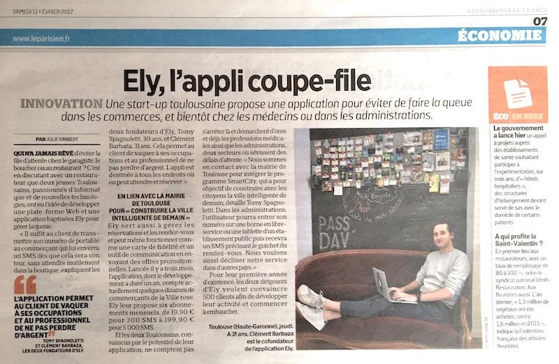 ély, Aujourd'hui en France
